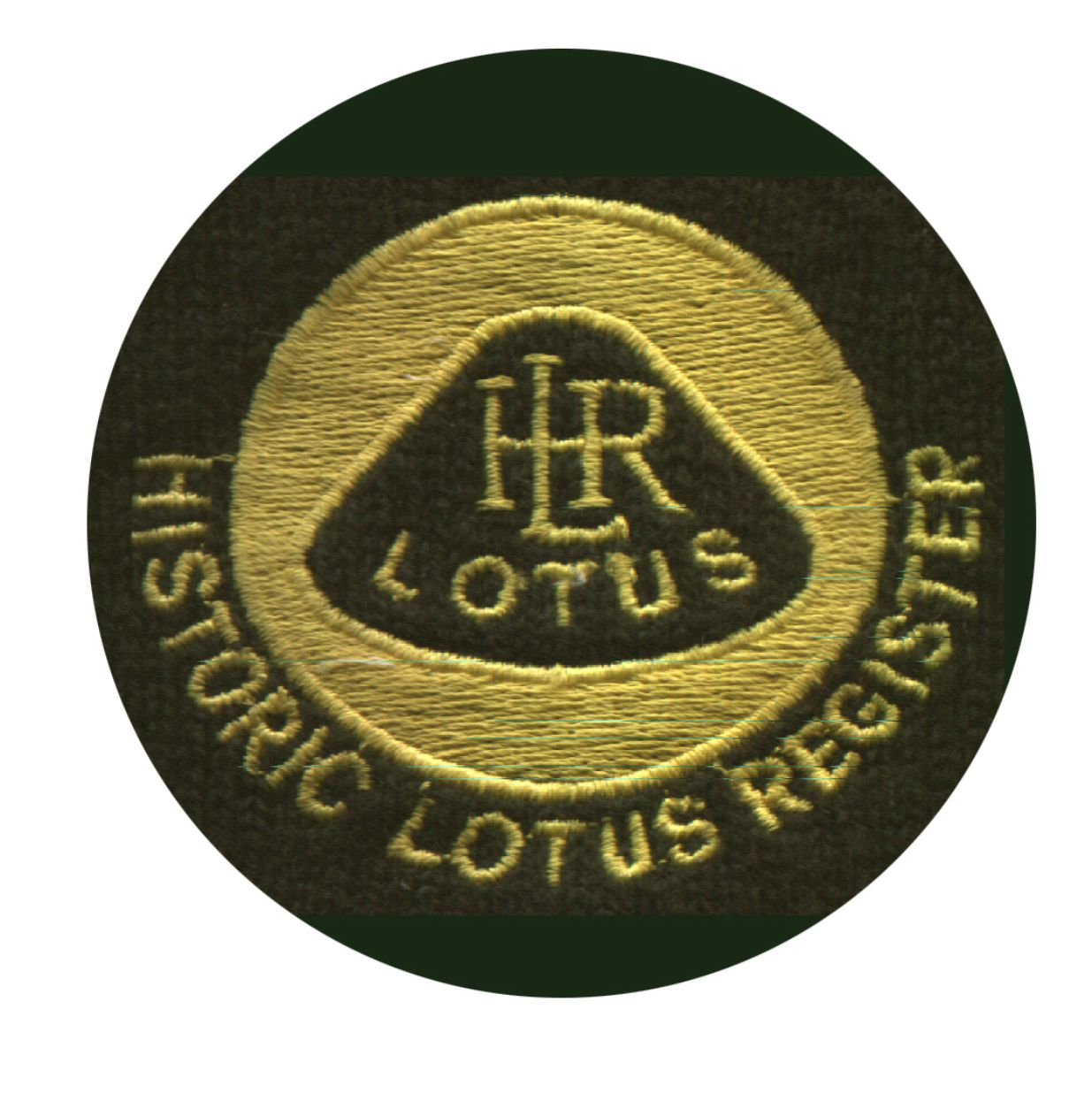 Historic Lotus Register cloth badges